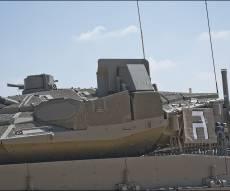 """מערכת הגנה אקטיבית """"מעיל רוח"""" של רפא""""ל, תערוכת צה""""ל שלנו 70, ישראל"""