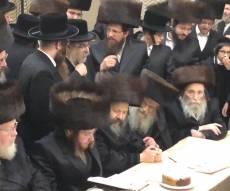 הרבי מבאבוב הגיע לישראל לשמחת הנגיד