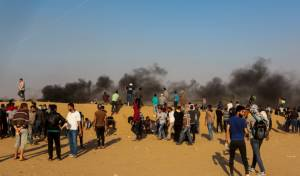 כך הורגעו המהומות בגדר הגבול עם עזה