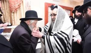 ביקור הרבי מסאטמר בישראל • צפו בגלריה