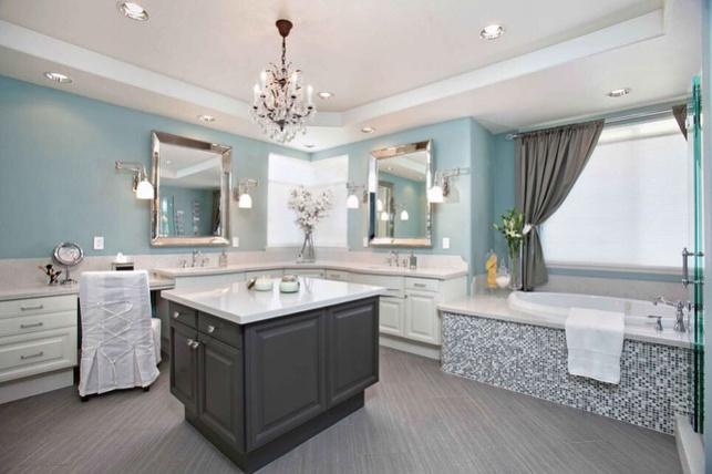 הטרנד הכי מרענן בעיצוב הבית: אי בחדר האמבטיה