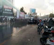 """הפגנת 'הפלג' בב""""ב: שוטרים ומפגינים פצועים, 15 עצורים"""