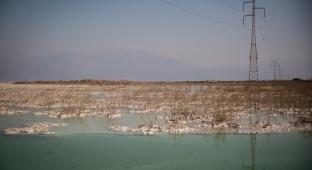 ים המוות? ים המלח בסדרת תמונות מרהיבה