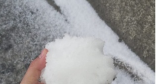 השלג היום בירושלים
