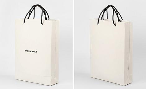 השקית - שקית של 'בלנסיאגה' נמכרת ב-1,100 דולרים