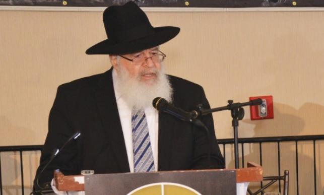 הרב פלוצ'וק בדינר של ישיבתו
