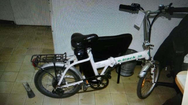 אחד האופניים הגנובים
