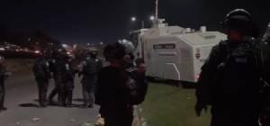 צפו בתיעוד: מהומות הערבים בדרום הארץ