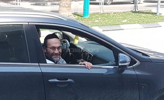 משה מונטג לאחר שחרורו, אמש