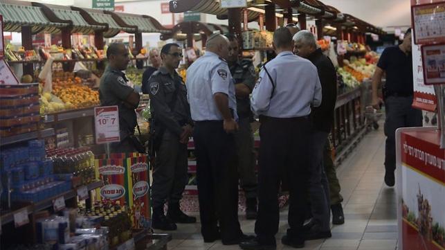 כוחות המשטרה בזירת הפיגוע