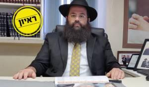 הרב סולמון בראיון ממשרדו בסופיה