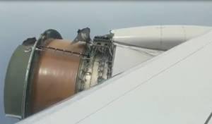 """המנוע עף: """"הטיסה המפחידה ביותר בחיי"""""""