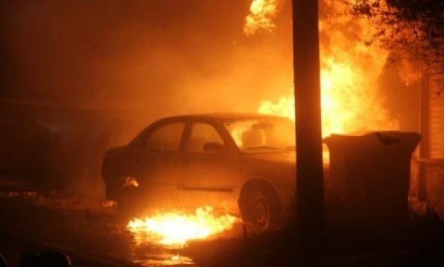 רכב רביעי בשבוע הוצת בנהריה