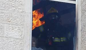 """השכנה: """"ילד הדליק אש וזה התפשט"""" • צפו"""