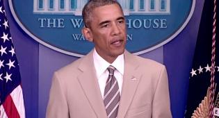 נשיא ארצות הברית ברק אובמה - לא תאמינו מה גרמה חליפה לאובמה
