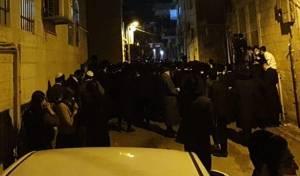 ירושלים: מאות התגודדו, החיילים חולצו. צפו
