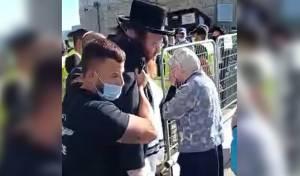 למרות ה'פטור'; הבחור נעצר וחטף מכות