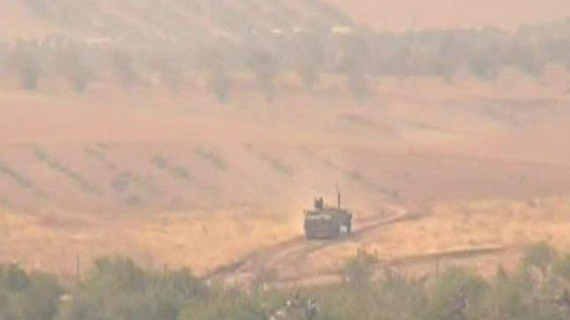 טנק טורקי בסוריה