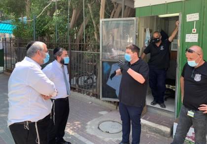 ראש העיר רמי גרינברג בסיור ב'ברכת יעקב', אמש