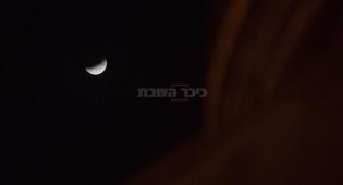 צפו בתמונות: ליקוי ירח חלקי בשמי ישראל