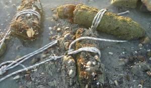 חמישה פגזים ישנים נמצאו בחוף הכנרת