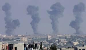 חיל האוויר תקף מנהרת טרור ועמדות כוח ימי ברצועת עזה