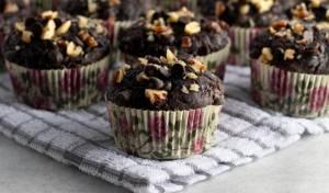 ב-35 דקות בלבד: מאפינס שוקולד ואגוזים