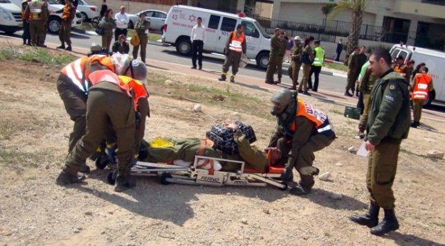 תרגיל באלעד: נפילת טיל כימי