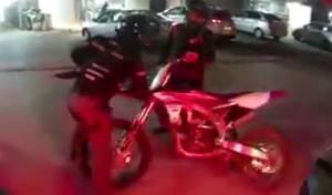 המרדף אחר הטרקטורונים ואופנועי השטח