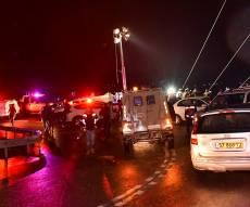 ארכיון - רוכב אופנוע נהרג בתאונה בכביש 5 לכיוון אריאל