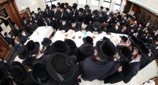 """הרבי מצאנז ביקר בביהמ""""ד החדש בירושלים"""