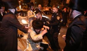 200 קיצוניים הפגינו; שוטר נפצע, 6 נעצרו