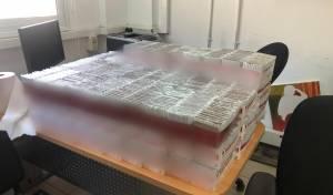 מאות 'פקטים' של סיגריות מוברחות הוחרמו