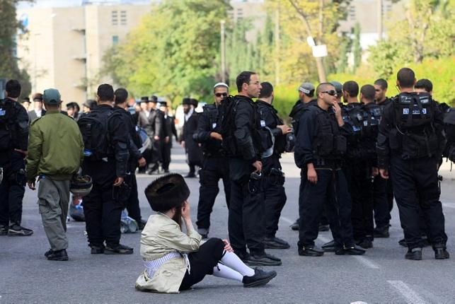 הפגנה נגד חילול שבת
