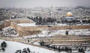 בירושלים נערכים לקראת הסופה הצפויה