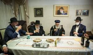 צפו: הראשון לציון ביקר בבית חבר ה'מועצת'