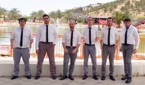 להקת 'רבותיי' במחרוזת חופה ווקאלית