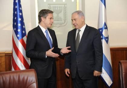 אנתוני בלינקן עם ראש הממשלה נתניהו