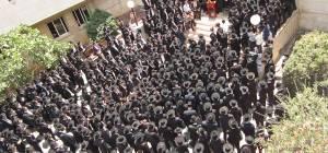 הלוויה בשכונת בית וגן. ארכיון