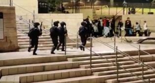 התפרעויות אלימות בשער שכם; 22 נעצרו