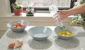 להפריד ביצים במהירות ובלי להתלכלך
