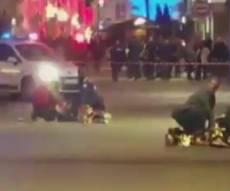 זירת הפיגוע בשטרסבורג