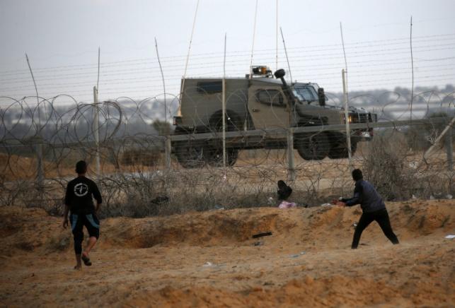 מחבלים יידו רימון על לוחמים בגבול ונעצרו