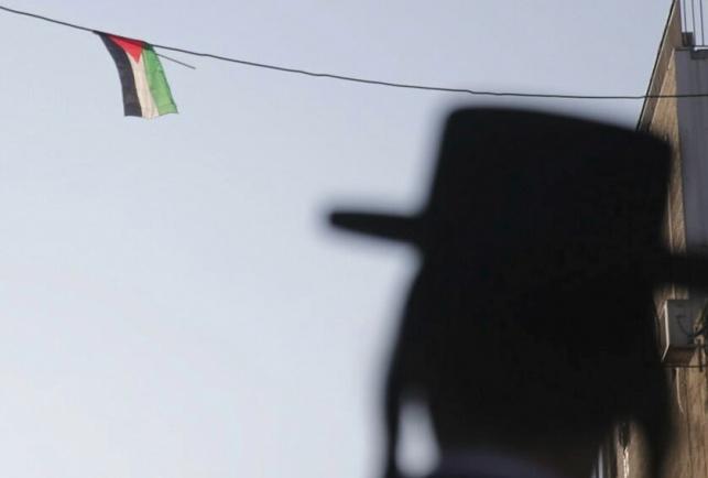 """דגל פלסטין במא""""ש, היום"""