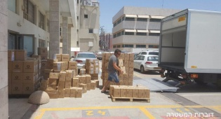 הסחורה המוחרמת - 8,000 סמארטפונים החשודים כמזוייפים הוחרמו