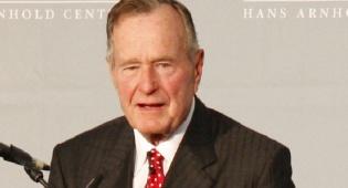 ג'ורג' בוש האבץ ארכיון - ג'ורג' בוש האב אושפז; נשקפת סכנה לחייו