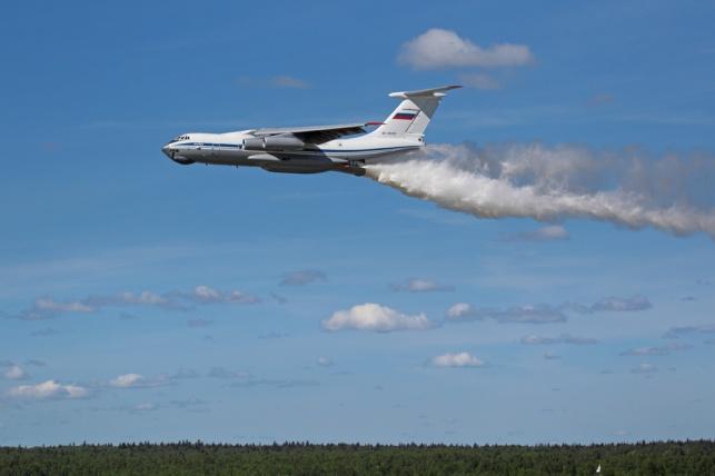 דגם המטוס שהתרסק