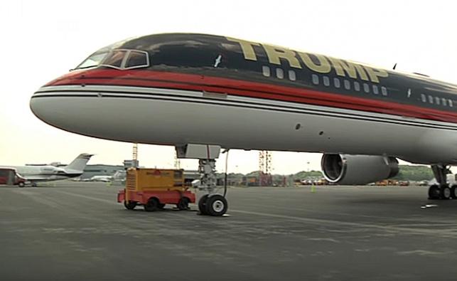 המטוס הפרטי של טראמפ