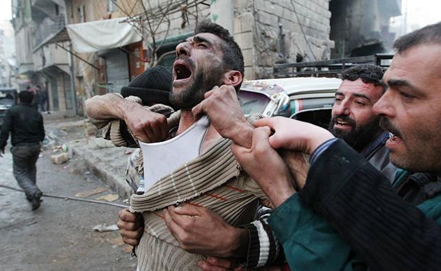 מראות המלחמה בסוריה