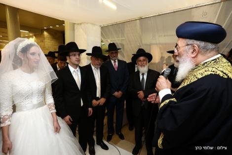 תיעוד: חתונת בת המשנה לראש העיר ירושלים